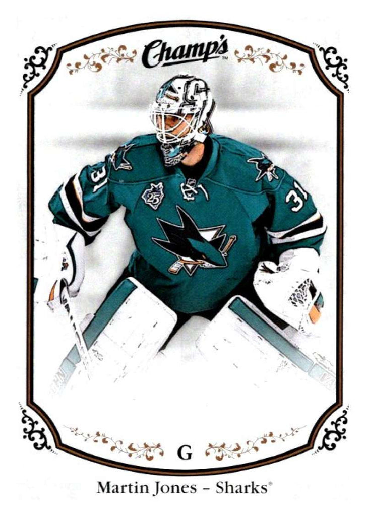 2015-16 Upper Deck Champs #119 Martin Jones Sharks NHL Mint