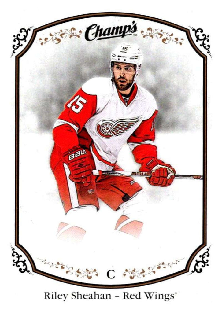 2015-16 Upper Deck Champs #127 Riley Sheahan Red Wings NHL Mint
