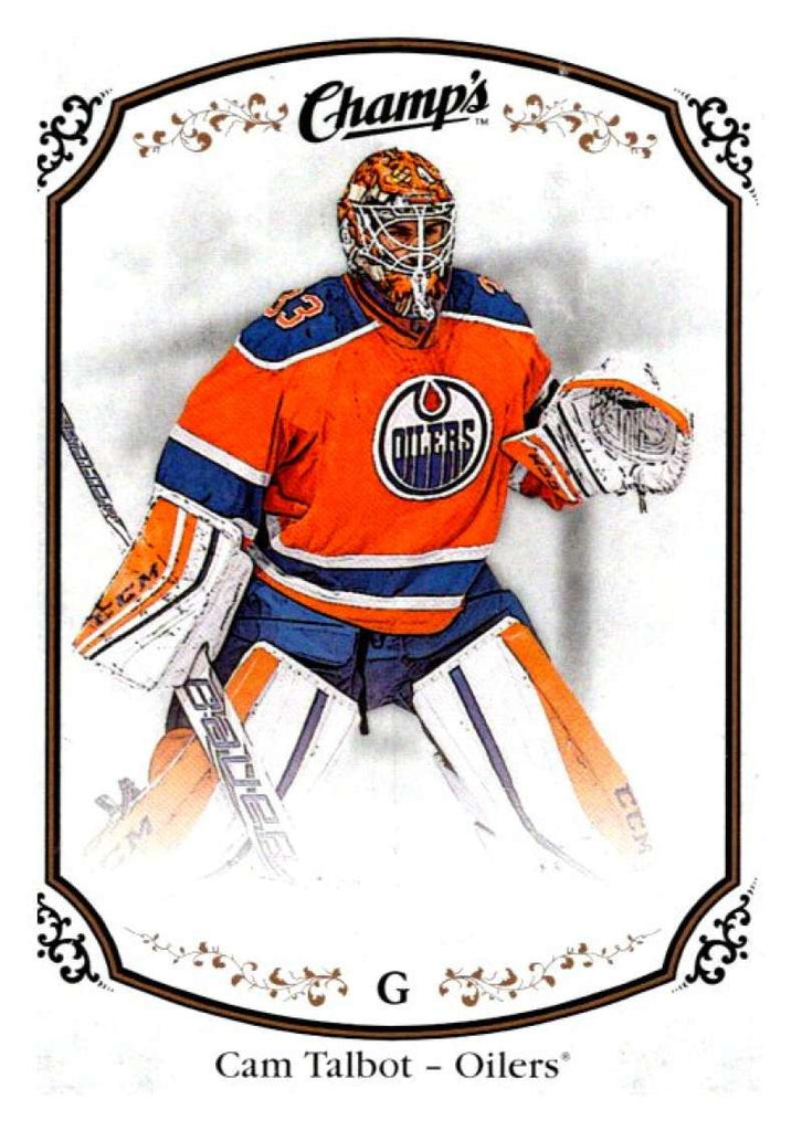 2015-16 Upper Deck Champs #135 Cam Talbot Oilers NHL Mint