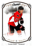 2015-16 Upper Deck Champs #150 Curtis Lazar Senators NHL Mint