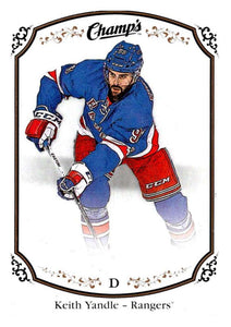 2015-16 Upper Deck Champs #153 Keith Yandle NY Rangers NHL Mint