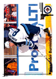 2012-13 Upper Deck Fleer Retro #3 Alexander Burmistrov Winn Jets NHL Mint