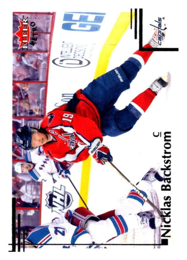 2012-13 Upper Deck Fleer Retro #6 Nicklas Backstrom Capitals NHL Mint
