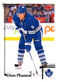 2012-13 Upper Deck Fleer Retro #13 Dion Phaneuf Maple Leafs NHL Mint