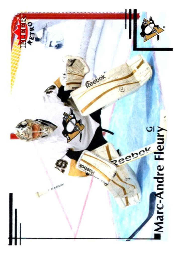 2012-13 Upper Deck Fleer Retro #26 Marc-Andre Fleury Penguins NHL Mint