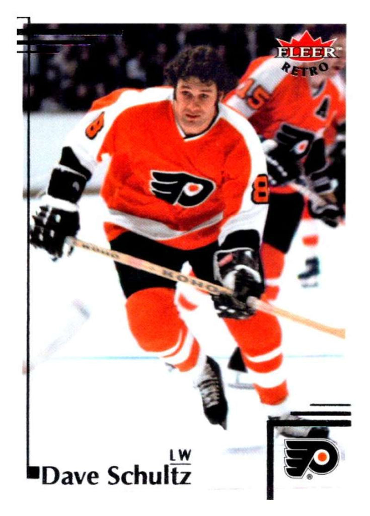 2012-13 Upper Deck Fleer Retro #30 Dave Schultz Flyers NHL Mint