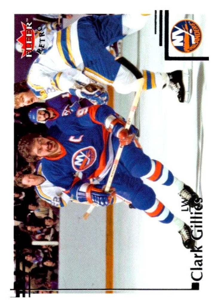 2012-13 Upper Deck Fleer Retro #42 Clark Gillies NY Islanders NHL Mint