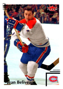 2012-13 Upper Deck Fleer Retro #48 Jean Beliveau Canadiens NHL Mint