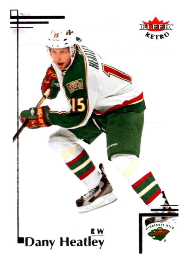 2012-13 Upper Deck Fleer Retro #52 Dany Heatley Wild NHL Mint