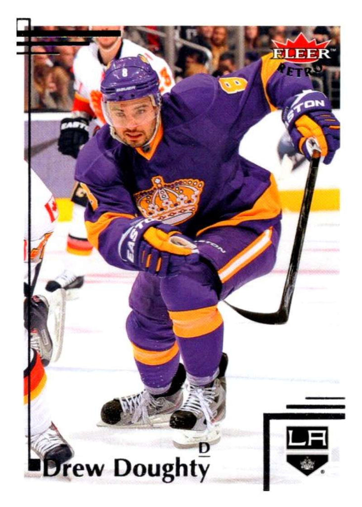 2012-13 Upper Deck Fleer Retro #55 Drew Doughty Kings NHL Mint