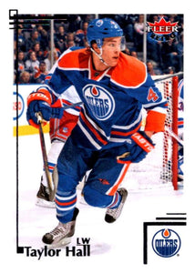 2012-13 Upper Deck Fleer Retro #67 Taylor Hall Oilers NHL Mint