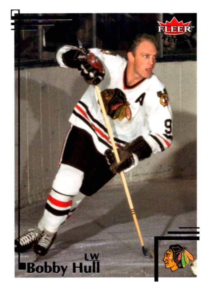 2012-13 Upper Deck Fleer Retro #78 Bobby Hull Blackhawks NHL Mint