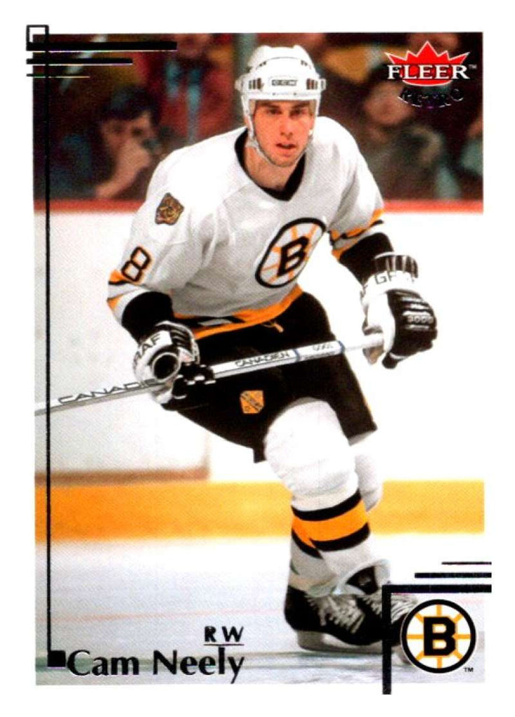 2012-13 Upper Deck Fleer Retro #90 Cam Neely Bruins NHL Mint