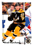 2012-13 Upper Deck Fleer Retro #91 Brad Marchand Bruins NHL Mint