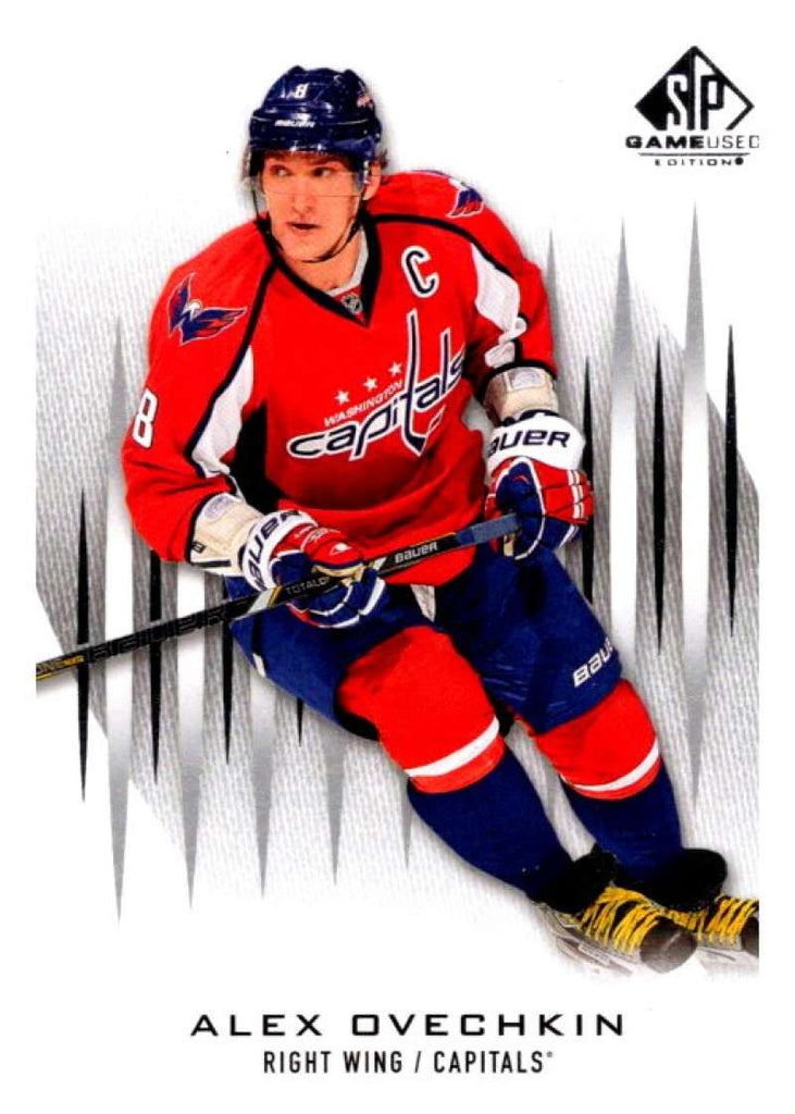 2013-14 Upper Deck SP Game Used #3 Alexander Ovechkin Capitals NHL Mint