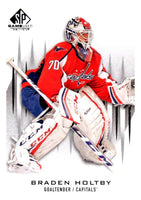 2013-14 Upper Deck SP Game Used #4 Braden Holtby Capitals NHL Mint