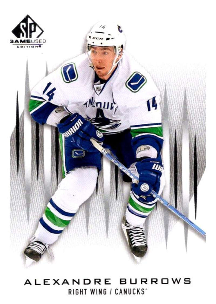 2013-14 Upper Deck SP Game Used #6 Alexandre Burrows Canucks NHL Mint