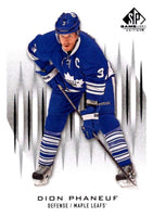 2013-14 Upper Deck SP Game Used #12 Dion Phaneuf Maple Leafs NHL Mint