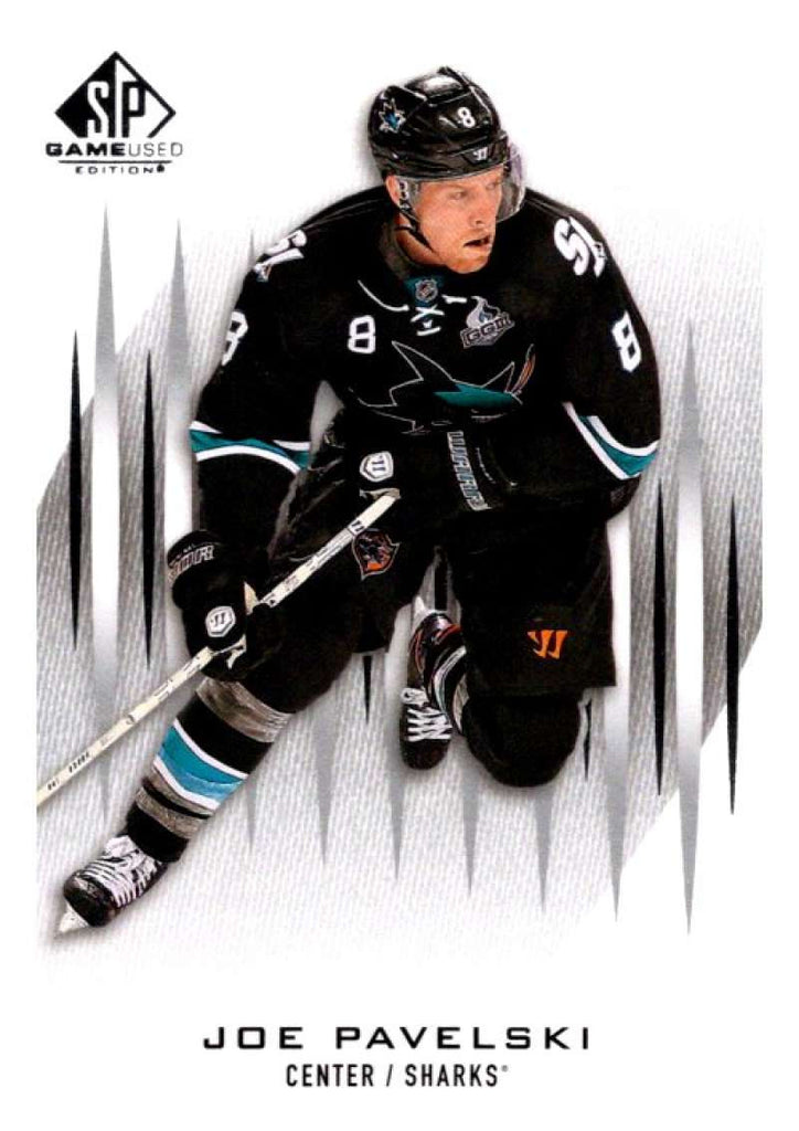 2013-14 Upper Deck SP Game Used #21 Joe Pavelski Sharks NHL Mint