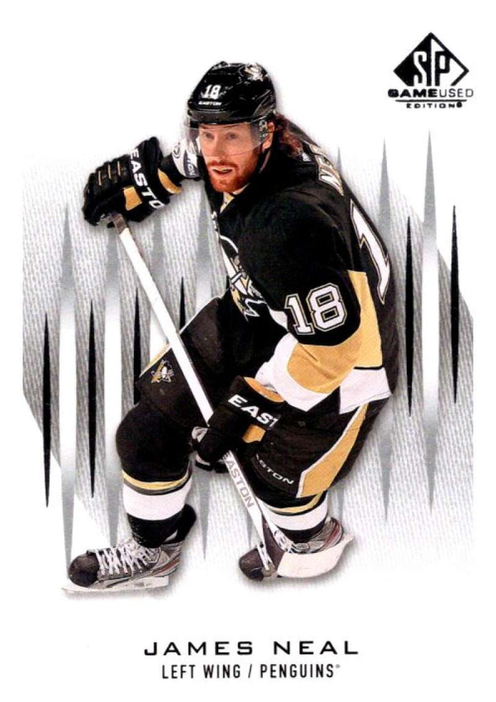 2013-14 Upper Deck SP Game Used #27 James Neal Penguins NHL Mint