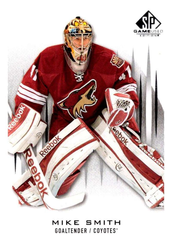 2013-14 Upper Deck SP Game Used #30 Mike Smith Coyotes NHL Mint