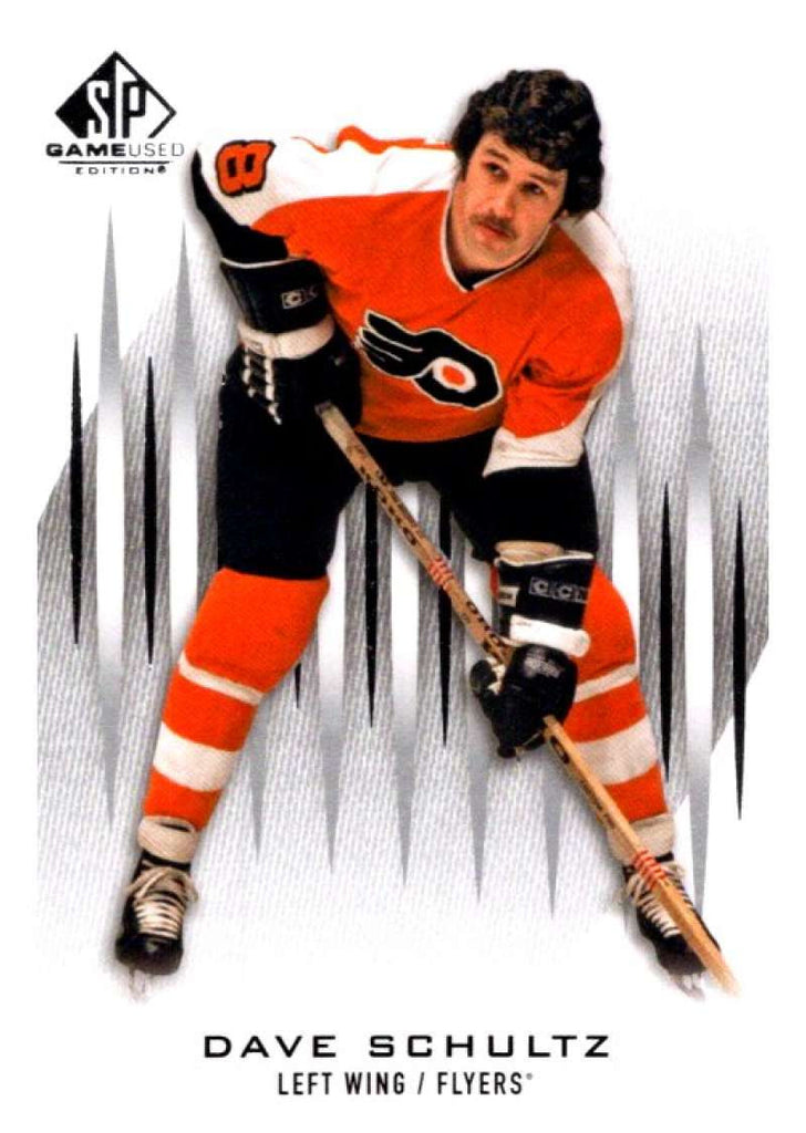 2013-14 Upper Deck SP Game Used #35 Dave Schultz Flyers NHL Mint