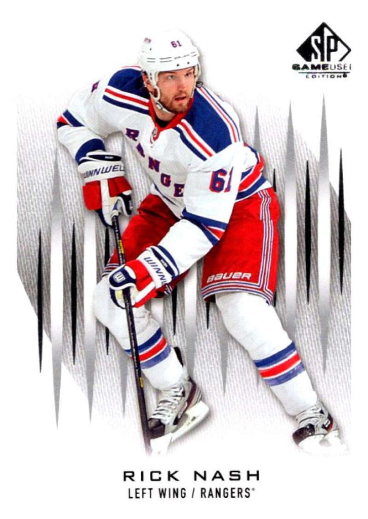 2013-14 Upper Deck SP Game Used #38 Rick Nash NY Rangers NHL Mint