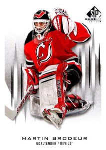 2013-14 Upper Deck SP Game Used #46 Martin Brodeur NJ Devils NHL Mint