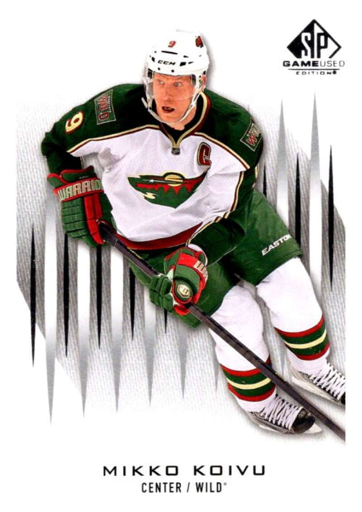 2013-14 Upper Deck SP Game Used #53 Mikko Koivu Wild NHL Mint