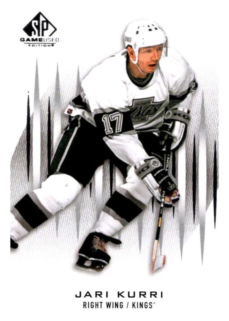 2013-14 Upper Deck SP Game Used #55 Jari Kurri Kings NHL Mint