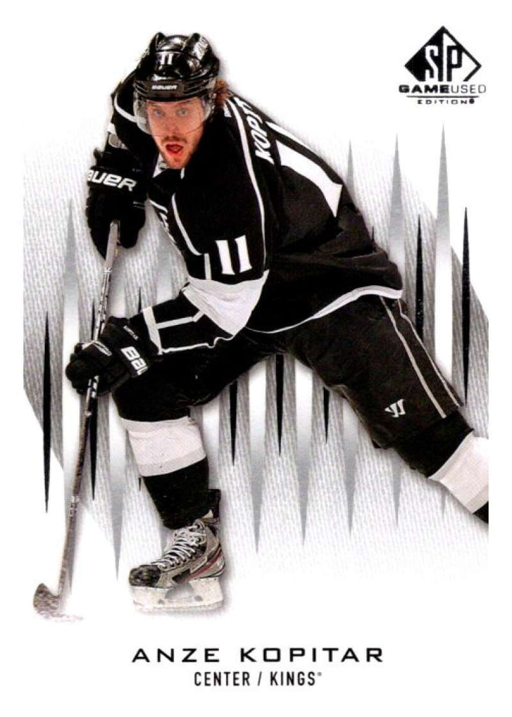 2013-14 Upper Deck SP Game Used #57 Anze Kopitar Kings NHL Mint