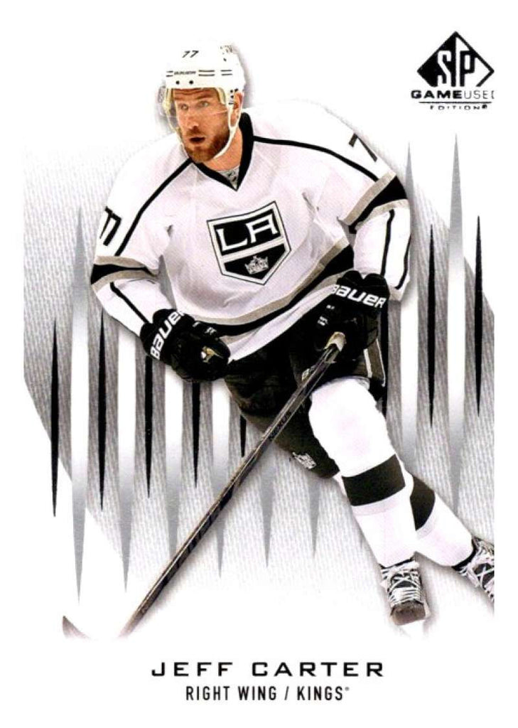 2013-14 Upper Deck SP Game Used #60 Jeff Carter Kings NHL Mint