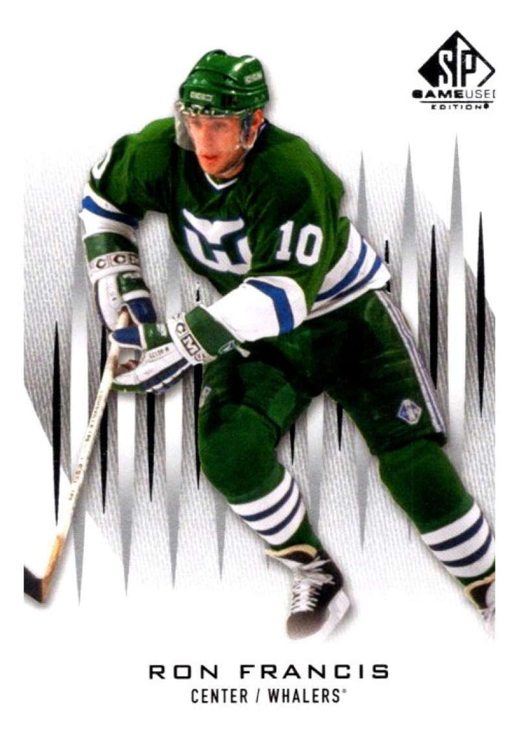 2013-14 Upper Deck SP Game Used #62 Ron Francis Whalers NHL Mint