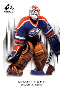2013-14 Upper Deck SP Game Used #64 Grant Fuhr Oilers NHL Mint