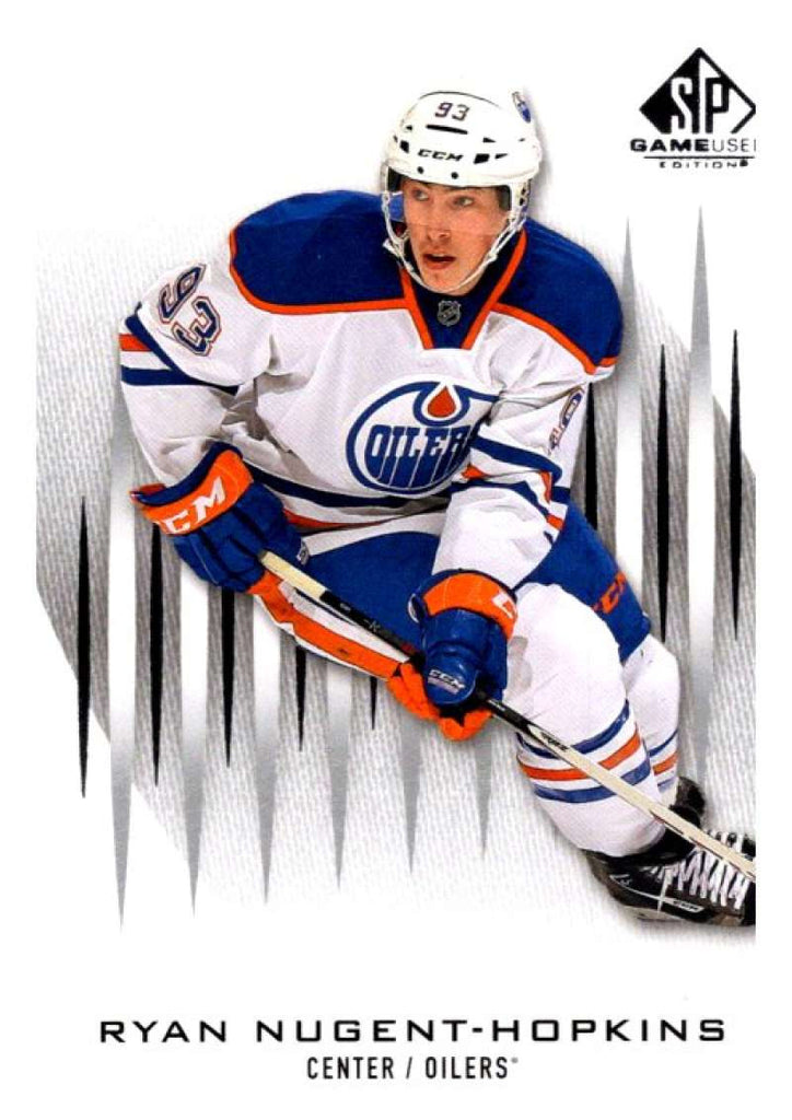 2013-14 Upper Deck SP Game Used #67 Ryan Nugent-Hopkins Oilers NHL Mint