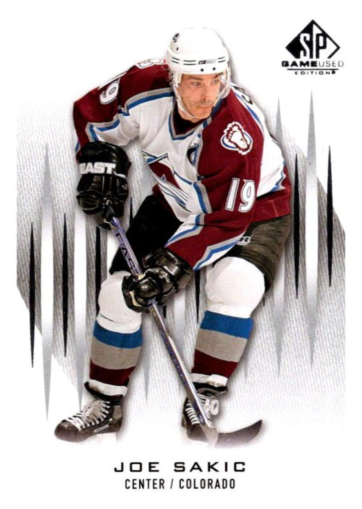 2013-14 Upper Deck SP Game Used #74 Joe Sakic Avalanche NHL Mint