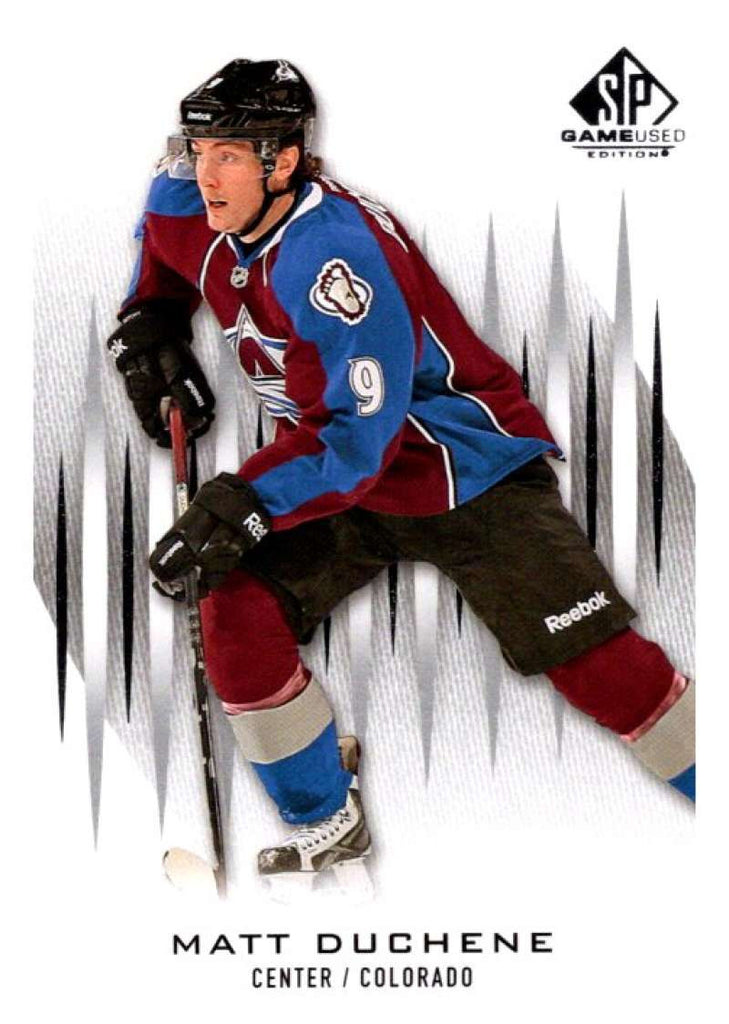 2013-14 Upper Deck SP Game Used #75 Matt Duchene Avalanche NHL Mint