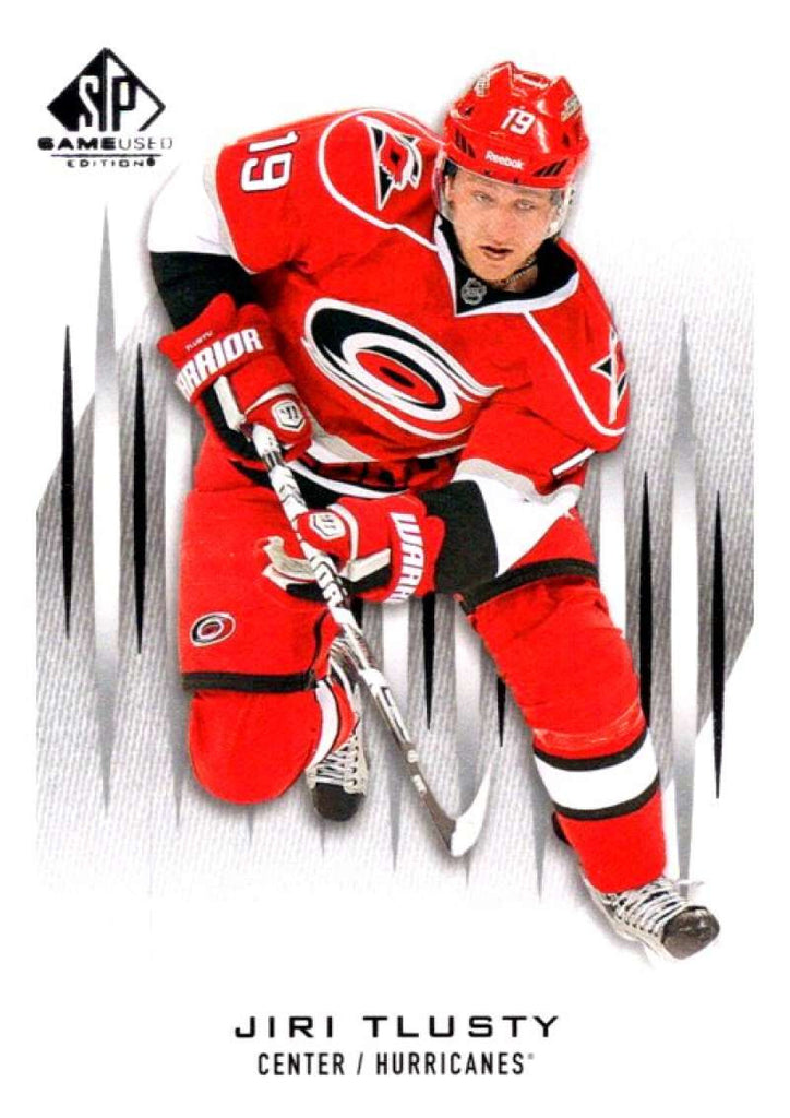 2013-14 Upper Deck SP Game Used #85 Jiri Tlusty Hurricanes NHL Mint