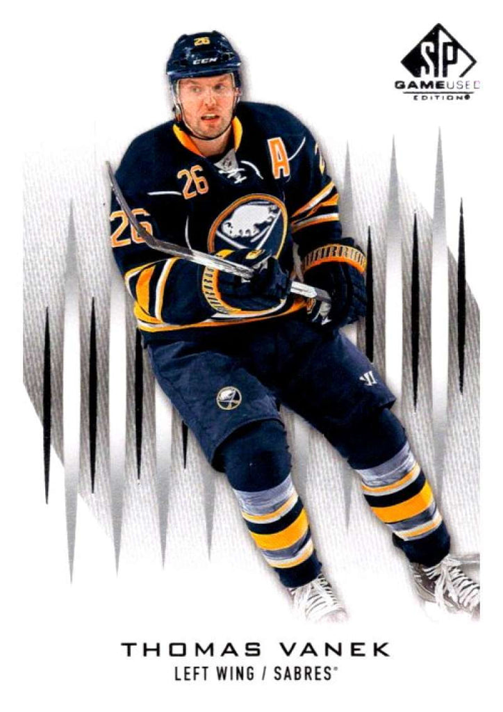 2013-14 Upper Deck SP Game Used #86 Thomas Vanek Sabres NHL Mint