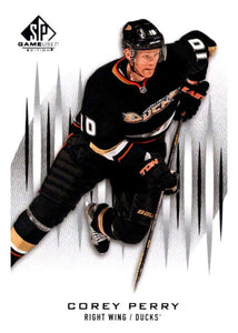 2013-14 Upper Deck SP Game Used #98 Corey Perry Ducks NHL Mint
