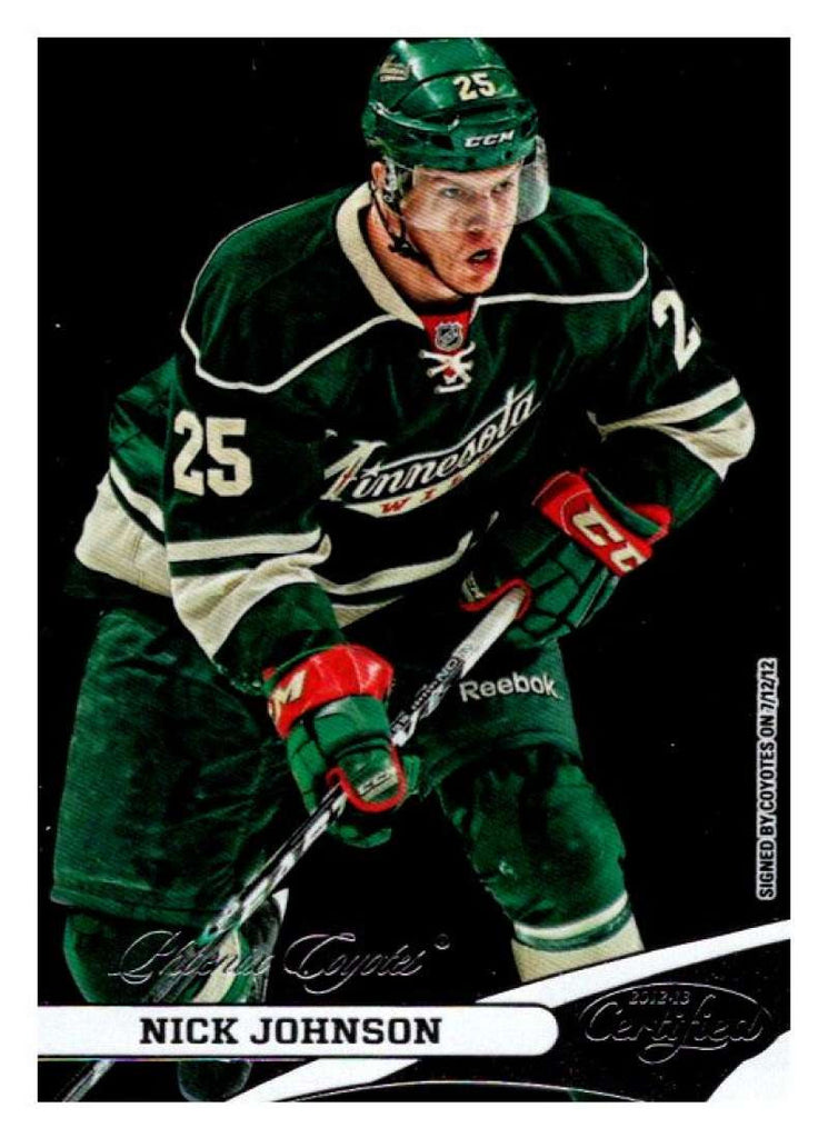 2012-13 Panini  Certified #25 Nick Johnson Coyotes NHL Mint