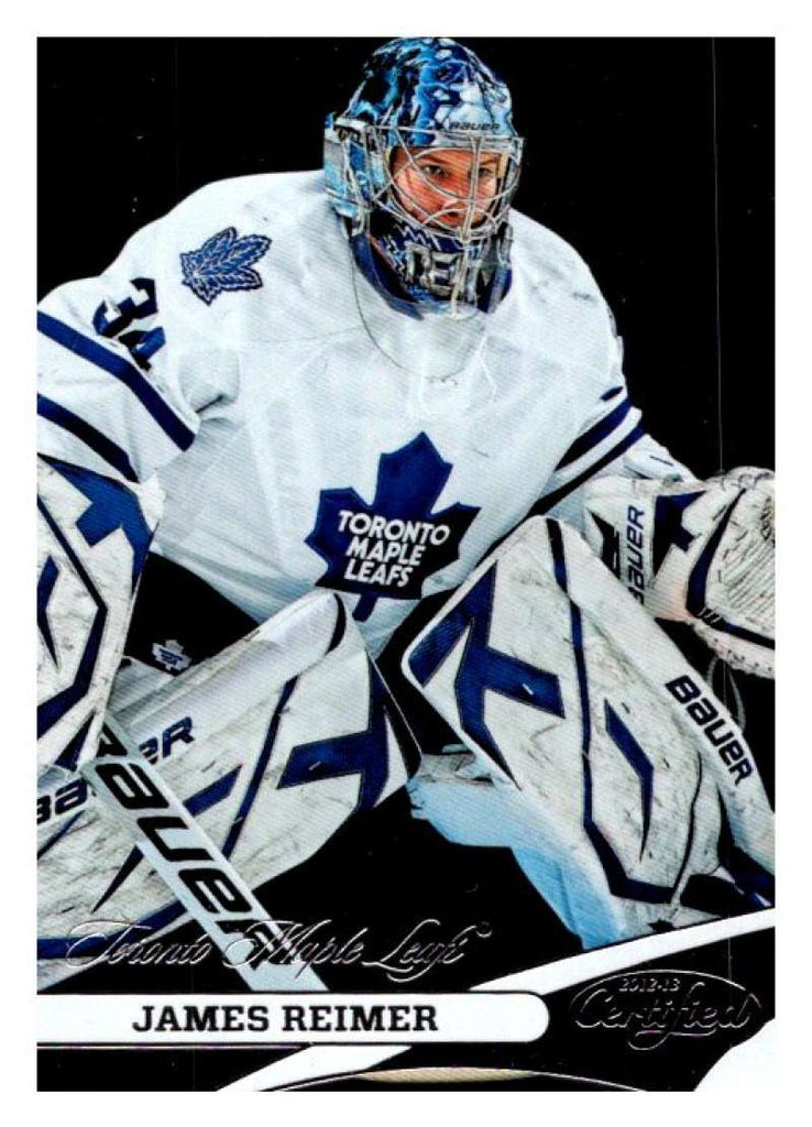 2012-13 Panini  Certified #34 James Reimer Maple Leafs NHL Mint