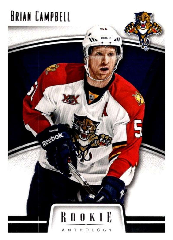 2013-14 Panini Rookie Anthology #39 Brian Campbell Panthers NHL Mint