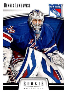 2013-14 Panini Rookie Anthology #61 Henrik Lundqvist NY Rangers NHL Mint