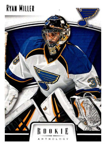 2013-14 Panini Rookie Anthology #83 Ryan Miller Blues NHL Mint