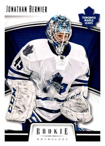 2013-14 Panini Rookie Anthology #88 Jonathan Bernier Maple Leafs NHL Mint