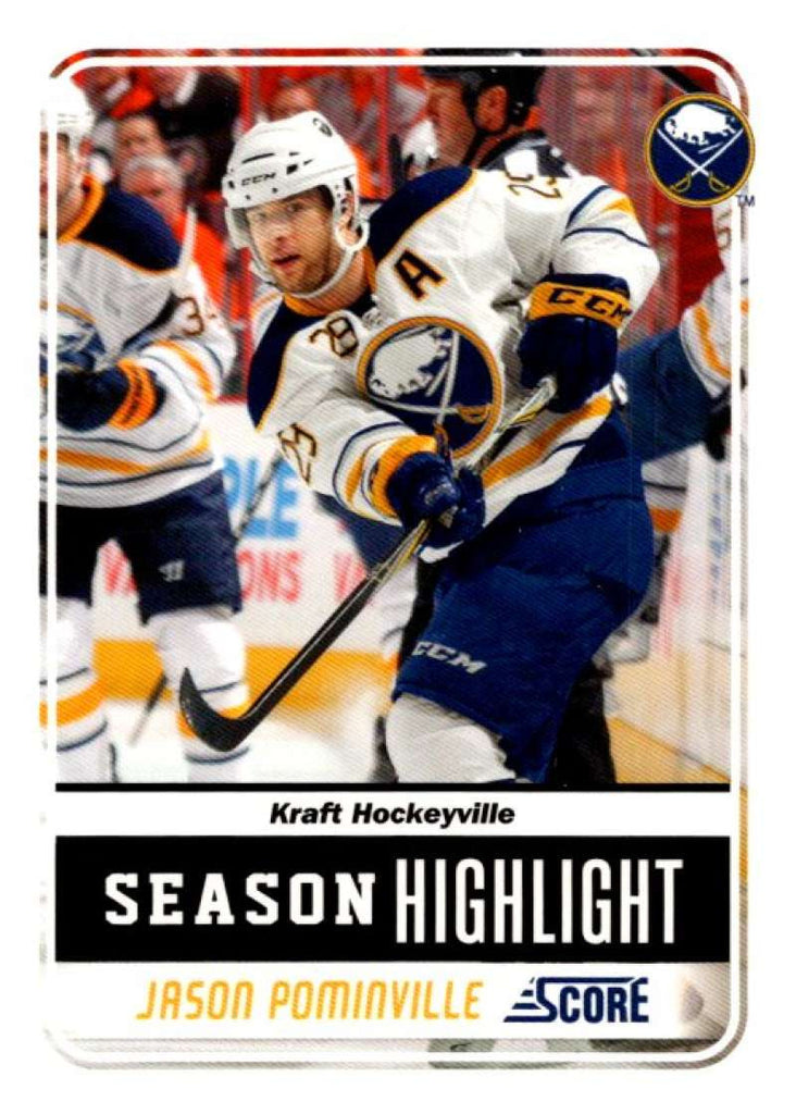 (HCW) 2011-12 Score Glossy #2 Jason Pominville Sabres NHL Mint