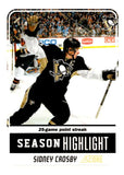 (HCW) 2011-12 Score Glossy #9 Sidney Crosby Penguins NHL Mint