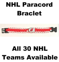 New Jersey Devils NHL Hockey Logo Paracord 8