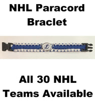 Tampa Bay Lightning NHL Hockey Logo Paracord 8